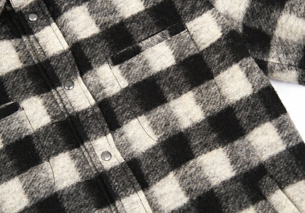 ドルチェ&ガッバーナDOLCE&GABBANA 中綿チェックリバーシブルジャケット 黒ベージュ50
