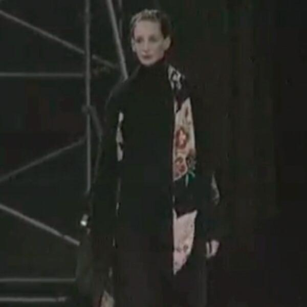 ヨウジヤマモト ファムYohji Yamamoto FEMME 裏着物起毛ウールポンチョコート 黒マルチS
