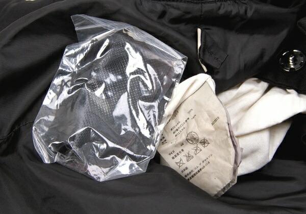 コムデギャルソンCOMME des GARCONS 製品染めテーピングポリボレロコート 黒XS