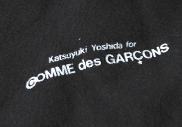 コムデギャルソン Katsuyuki Yoshida for COMME des GARCONS ショルダーガマ口サイフ 黒茶