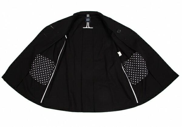 リミフゥLIMI feu コットンAライン7部袖コート 黒S