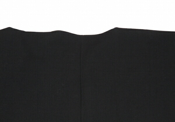 ヨウジヤマモト ファムYohji Yamamoto FEMME ウール着物コート 黒S