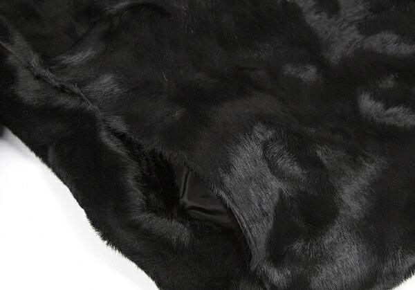 マックスマーラMax Mara ハラコジャケット 黒40