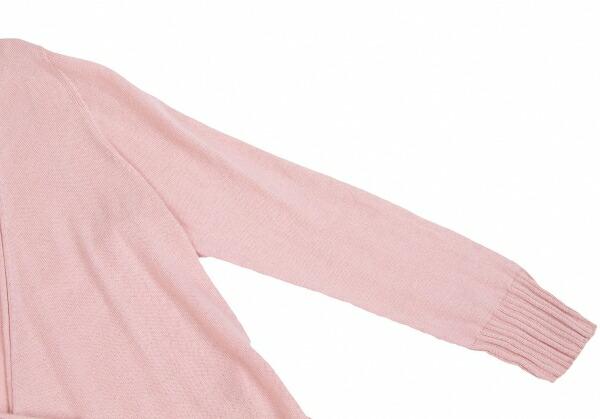 マークジェイコブスMARC JACOBS フリルカシュクールカーディガン ピンクS