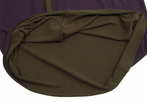 ヨーガンレールJURGEN LEHL バイカラーバルーンセットアップスーツ 紫カーキM