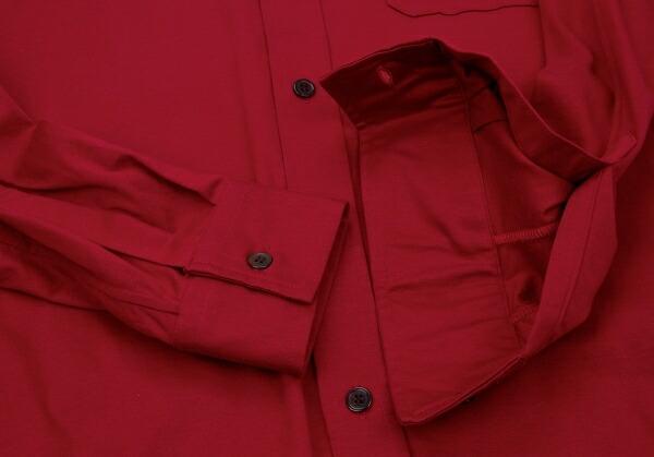 ヨウジヤマモト コスチューム ド オムYOHJI YAMAMOTO COSTUME D'HOMME INDUSTYLE TOKYO 動体裁断+動体縫製コットン天竺シャツ 赤3