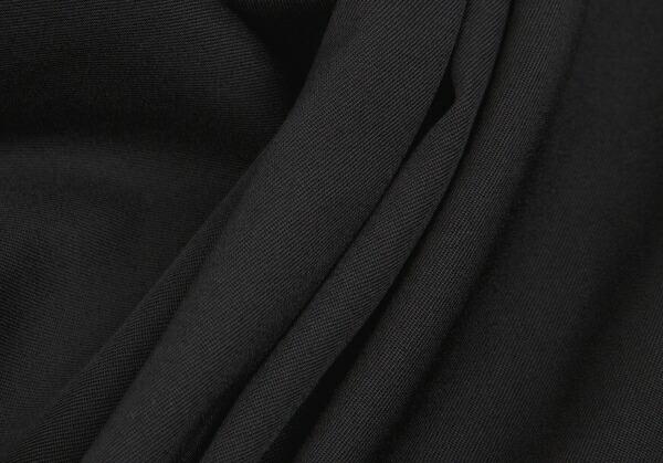 コムコム コムデギャルソンCOMME des GARCONS ウールストレートパンツ 黒M