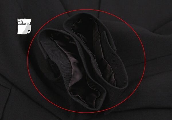 アルファスピンALFASPIN フラップポケットデザイン3Bセットアップスーツ 黒M