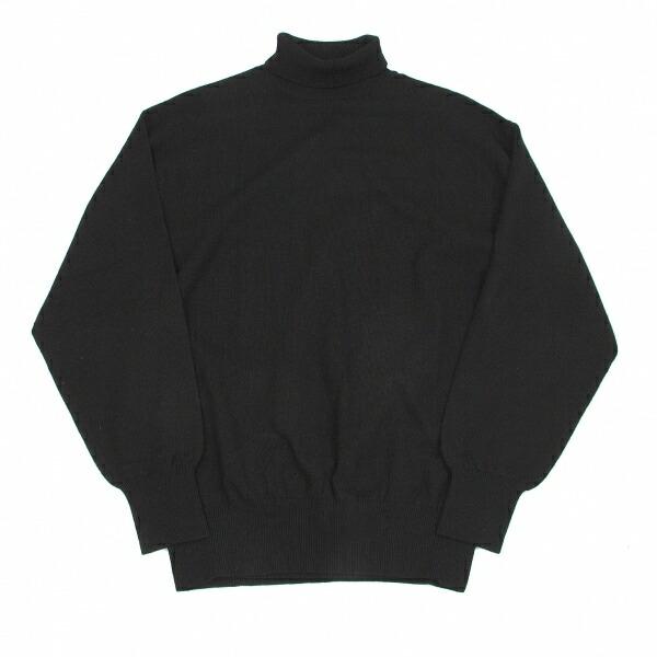 コムデギャルソン オムCOMME des GARCONS HOMME ウールナイロンタートルネックセーター 黒M位