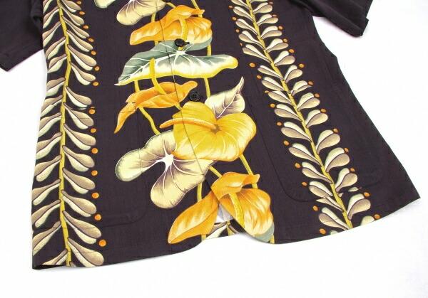 ヨウジヤマモト プールオムYohji Yamamoto POUR HOMME ボタニカルプリント半袖ジャケット 黒オレンジ緑他M