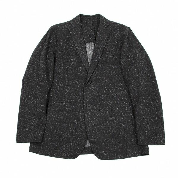 イッセイミヤケ メンISSEY MIYAKE MEN マーブルプリントジャケット 濃淡チャコール3