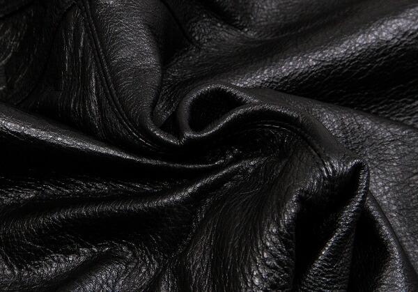 ジャンポールゴルチエ オムJean Paul GAULTIER HOMME スナップウエストシンチバック裾ジップレザーパンツ 黒50