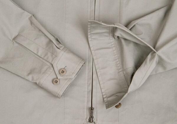 ヨウジヤマモト プールオムYohji Yamamoto POUR HOMME コットンカラーデザインストレッチジップジャケット グレー3