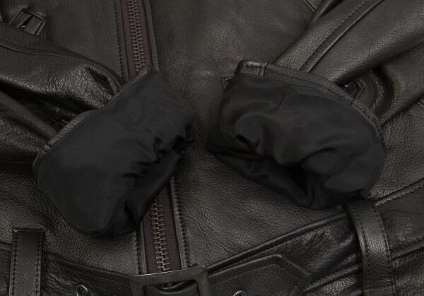 ヨウジヤマモト プールオムYohji Yamamoto POUR HOMME レザーライダースジャケット 黒3