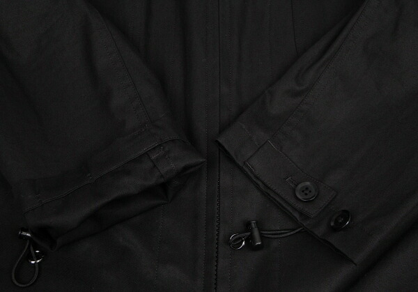 ヨウジヤマモト レギュレーションメンYohji Yamamoto REGULATION MENコットンジャンプスーツ 黒1
