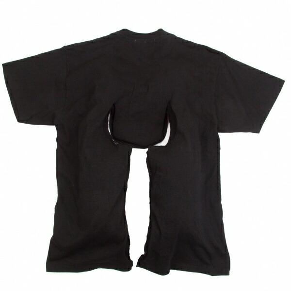 コムデギャルソンCOMME des GARCONS 中綿変形Tシャツ 黒M位