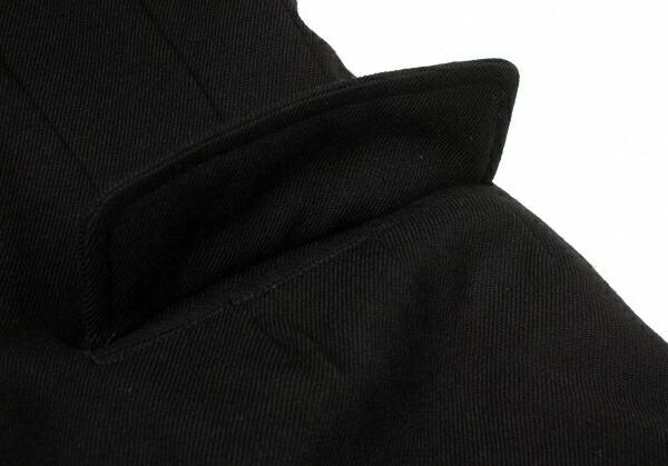 ヨウジヤマモト プールオムYohji Yamamoto POUR HOMME 中綿裏キルティングリバーシブルジャケット 黒3