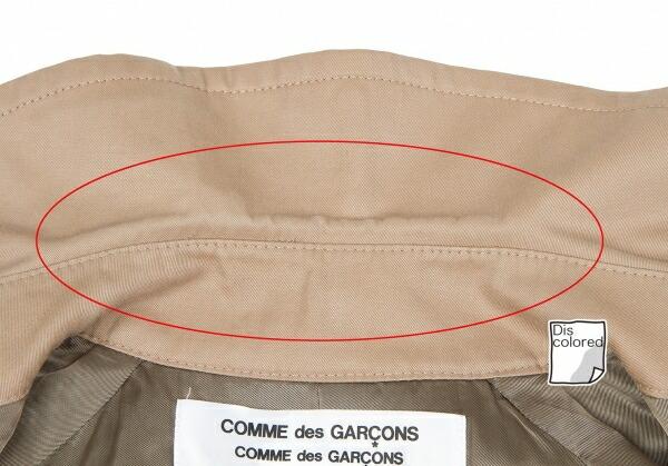 コムコム コムデギャルソンCOMME des GARCONS バルーンスリーブトレンチコート ベージュS