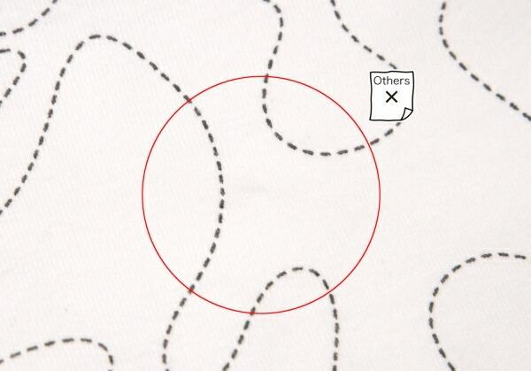 イッセイミヤケメン×村上隆 ISSEY MIYAKE MEN Takashi Murakami ポジきのこ刺繍Tシャツ 白L
