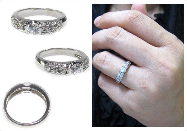 プラチナリング・ダイヤモンド・婚約指輪・エンゲージリング