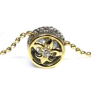 百合の紋章,ダイヤモンド,ネックレス