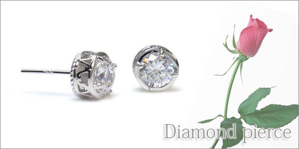 プラチナ,ダイヤモンド,ピアス