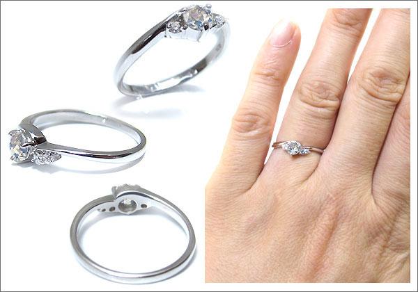 指輪 上品 一粒