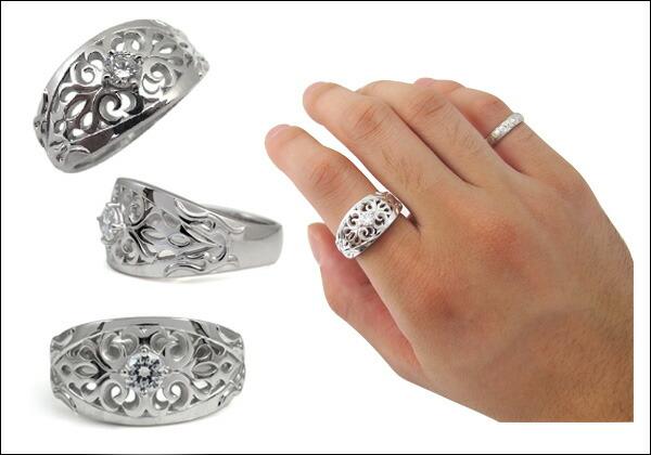 指輪,鑑定書付き,ダイヤモンド