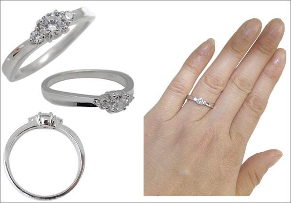 プラチナ ダイヤモンド 指輪