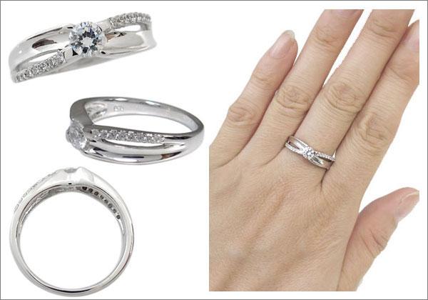婚約指輪 指輪 一粒