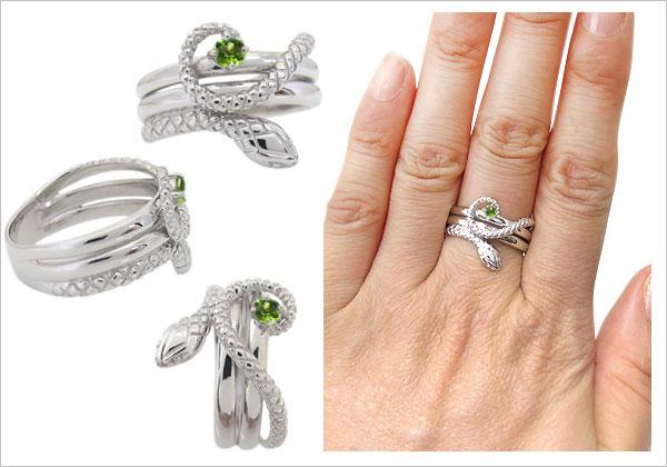 ヘビ,リング,指輪