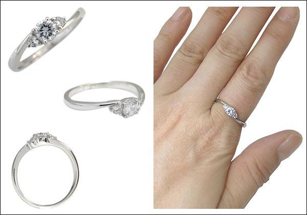 ダイヤモンド,指輪,鑑定書付き