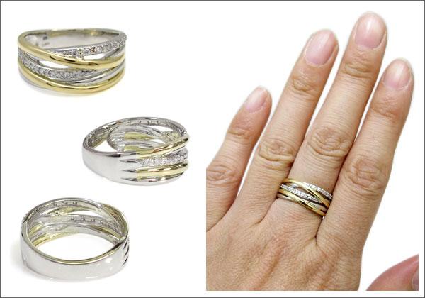 コンビ,ダイヤモンド,指輪