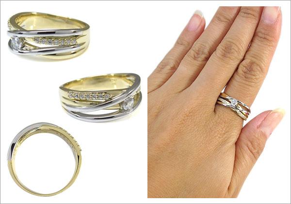ダイヤモンドリング,コンビ,指輪