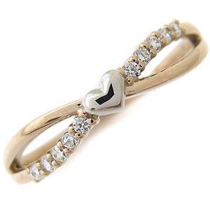 ハート 指輪