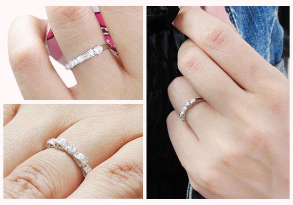 ダイヤモンド,リボン,指輪