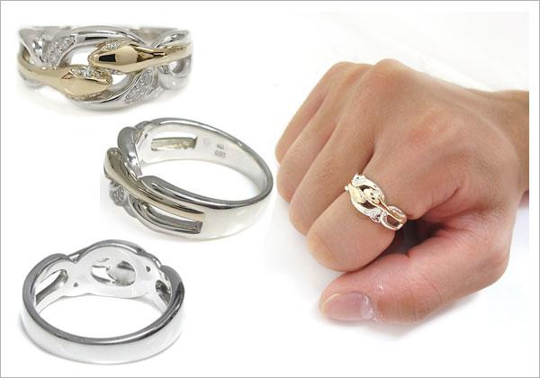 スネーク,蛇,指輪,メンズ