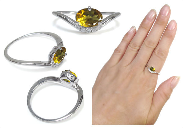 オーバル,上品,指輪