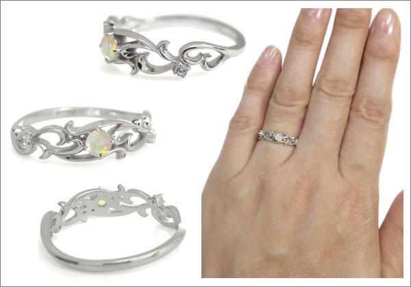 唐草 指輪