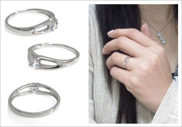 誕生石 婚約指輪
