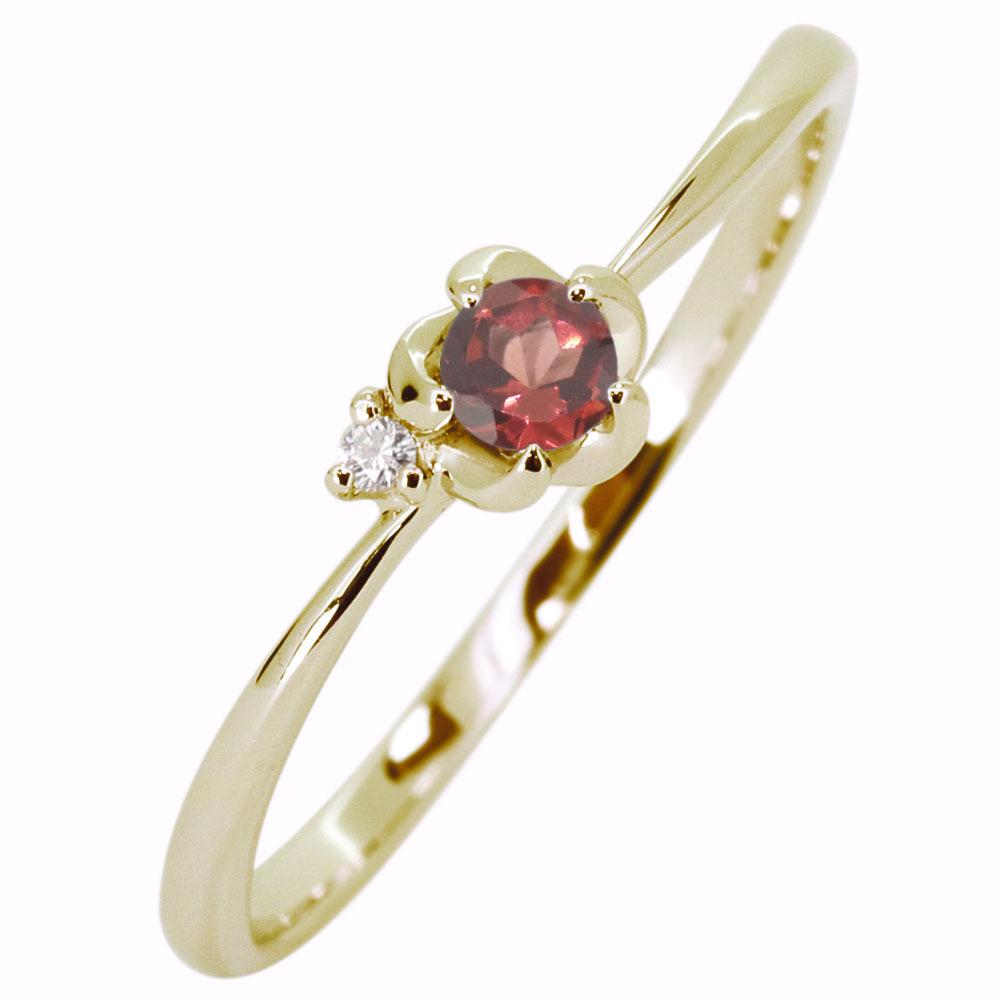 ガーネット指輪