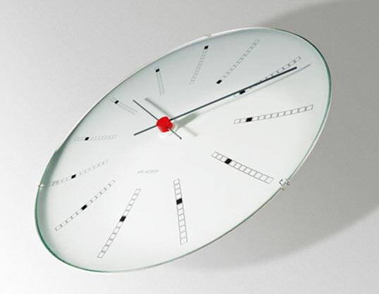 plottokyo rosendahl arne jacobsen arne jacobsen bankers clock 290 mm 290 mm wall clock bankers. Black Bedroom Furniture Sets. Home Design Ideas