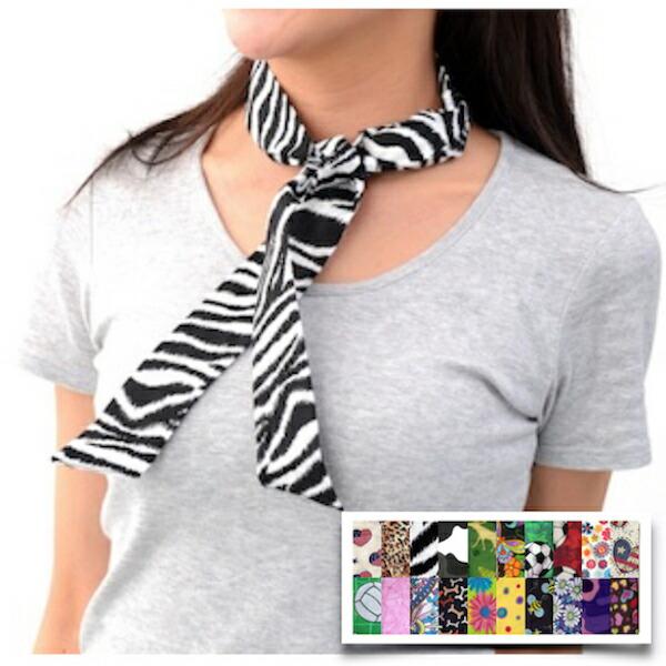 ひんやりタオル 冷感スカーフ