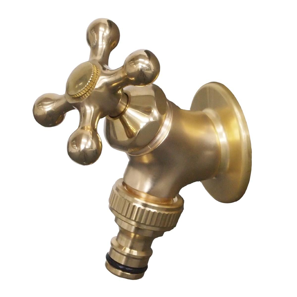 ホース接続水栓