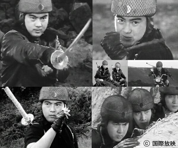 楽天市場】「忍者部隊 月光」 DVDBOX 2 【53話】元祖、特撮ヒーロー ...