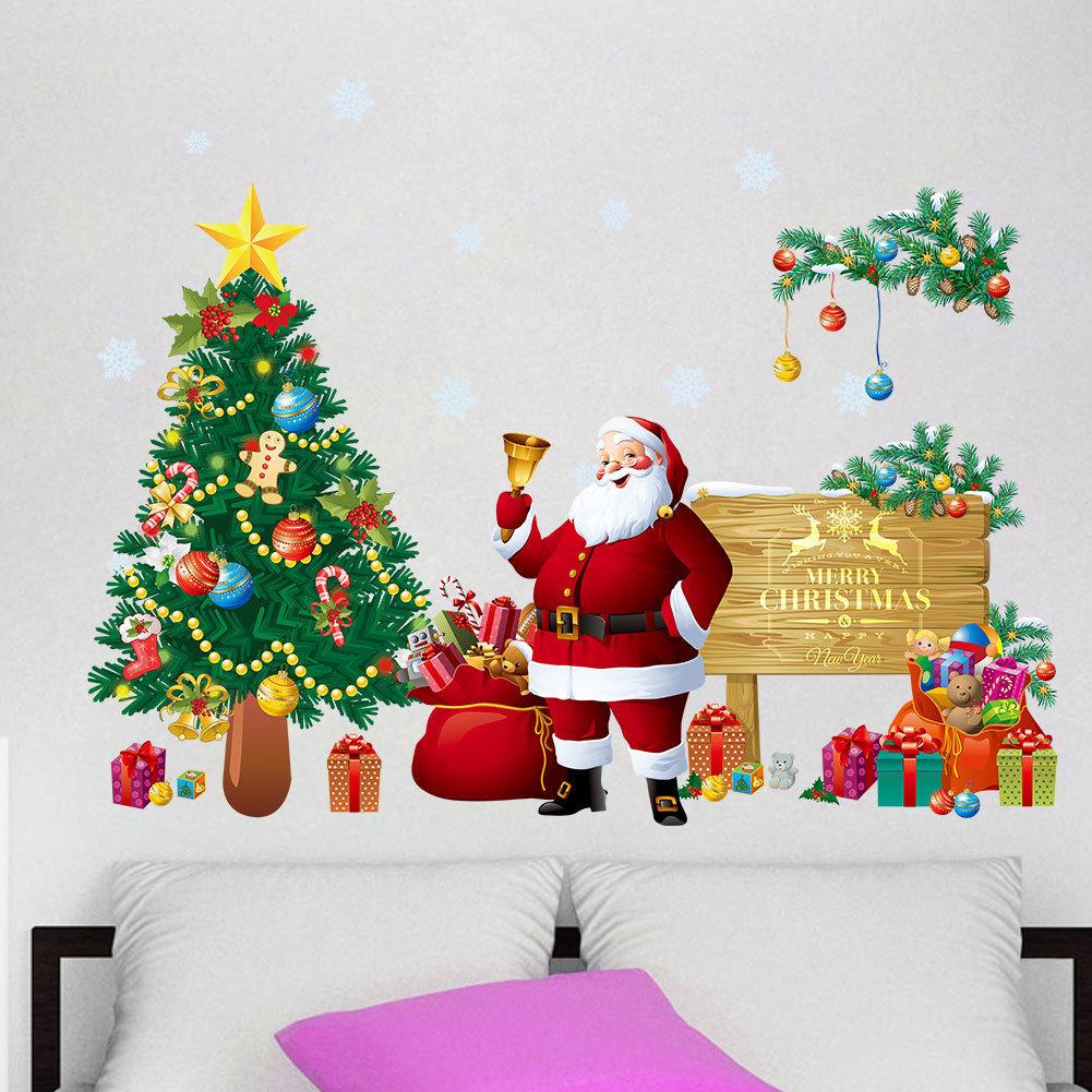 楽天市場 ウォールステッカー 壁紙シール クリスマス X Mas Christmas