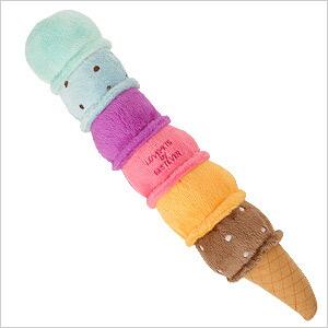 リアルで美味しそうなアイスのおもちゃ
