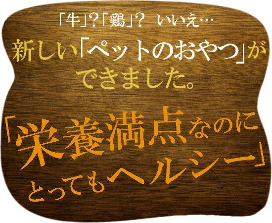 栄養満点の北海道産エミューチップ