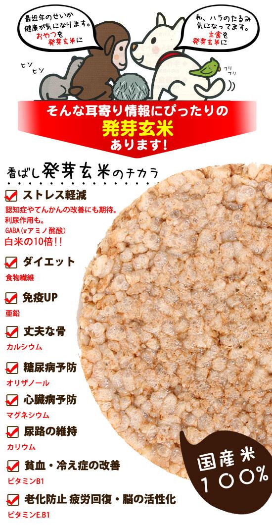 香ばし発芽玄米のチカラ