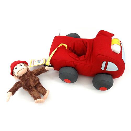 キュリアスジョージぬいぐるみ 消防車